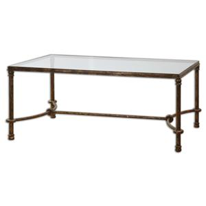 Uttermost Accent Furniture Warring Iron Coffee Table