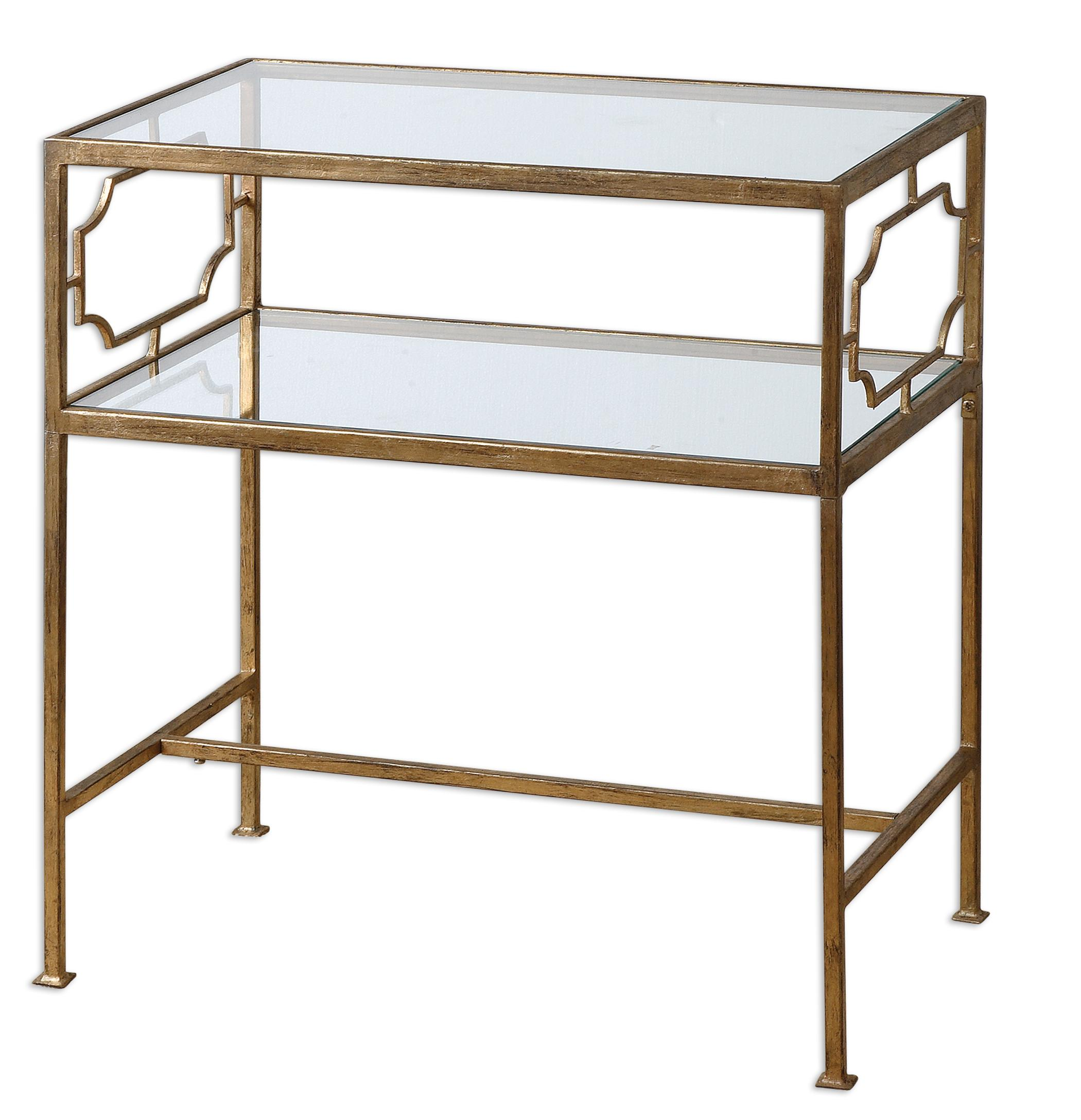 Accent Furniture - Occasional Tables Genell Side Table by Uttermost at Factory Direct Furniture