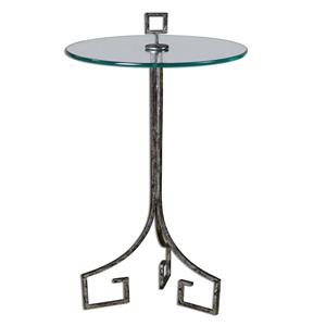 Uttermost Accent Furniture Grecia Iron Accent Table