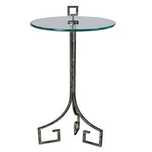 Uttermost Accent Furniture Grecia Iron Accent Table