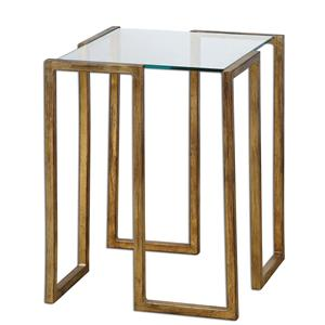 Uttermost Accent Furniture Mirrin Accent Table