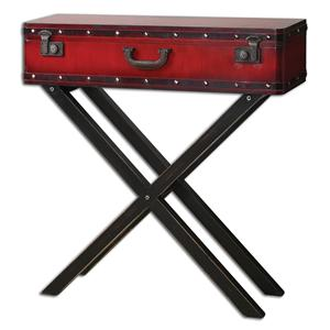 Uttermost Accent Furniture Taggart Red Console Table