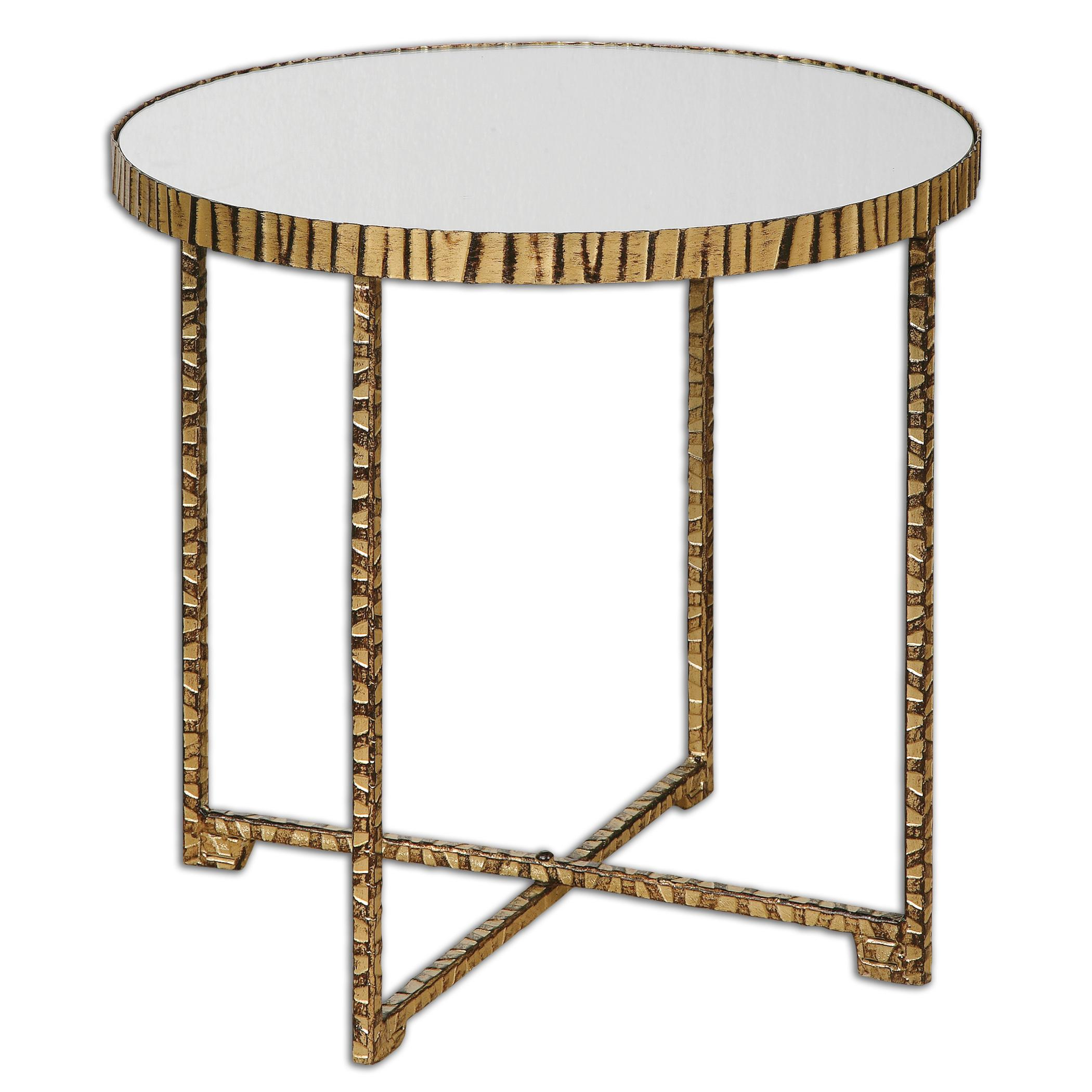 Uttermost Accent Furniture Myeshia Round Accent Table - Item Number: 24433