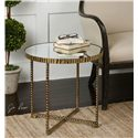 Uttermost Accent Furniture Myeshia Round Accent Table