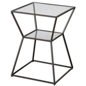 Uttermost Accent Furniture Auryon Iron Accent Table