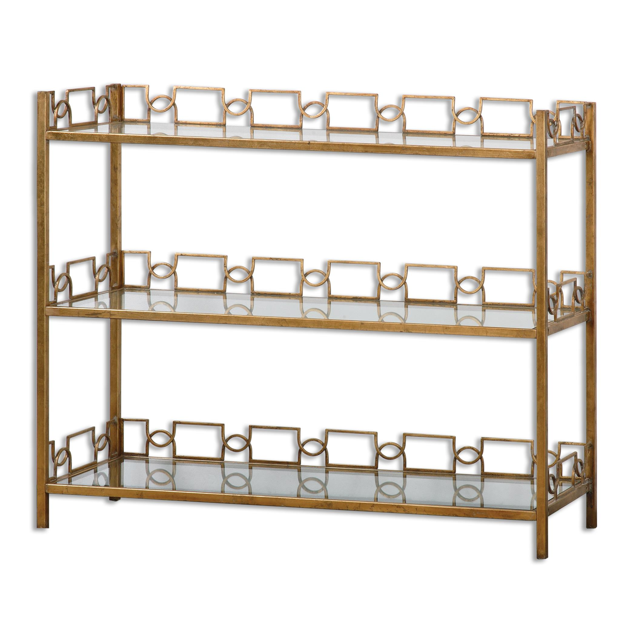 Uttermost Accent Furniture Nicoline Glass Console - Item Number: 24439