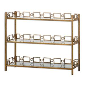 Uttermost Accent Furniture Nicoline Glass Console