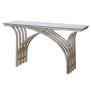 Uttermost Accent Furniture Kassia Iron Console Table