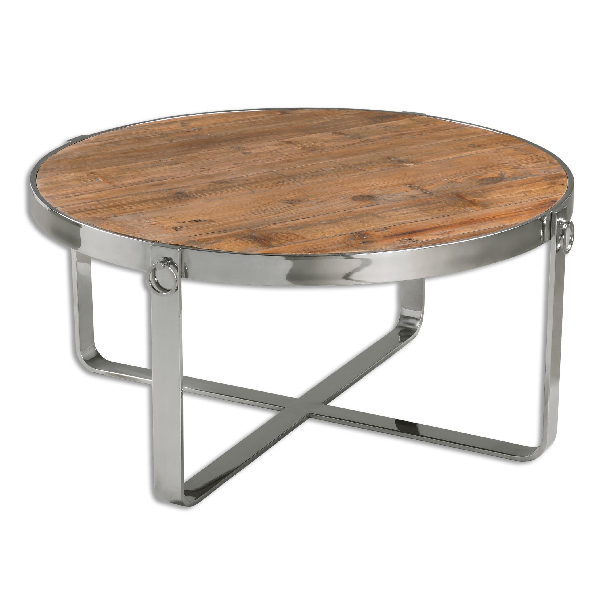 Uttermost Accent Furniture Berdine Wooden Coffee Table - Item Number: 24485
