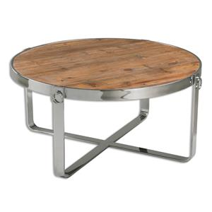 Uttermost Accent Furniture Berdine Wooden Coffee Table
