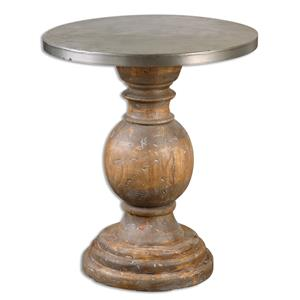 Uttermost Accent Furniture Blythe Wooden Accent Table
