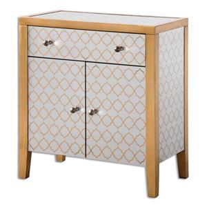 Uttermost Accent Furniture Karolina Mirrored Accent Chest