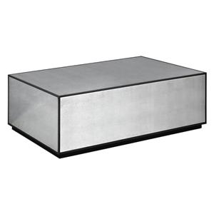 Uttermost Accent Furniture Matty Mirrored Cocktail Table