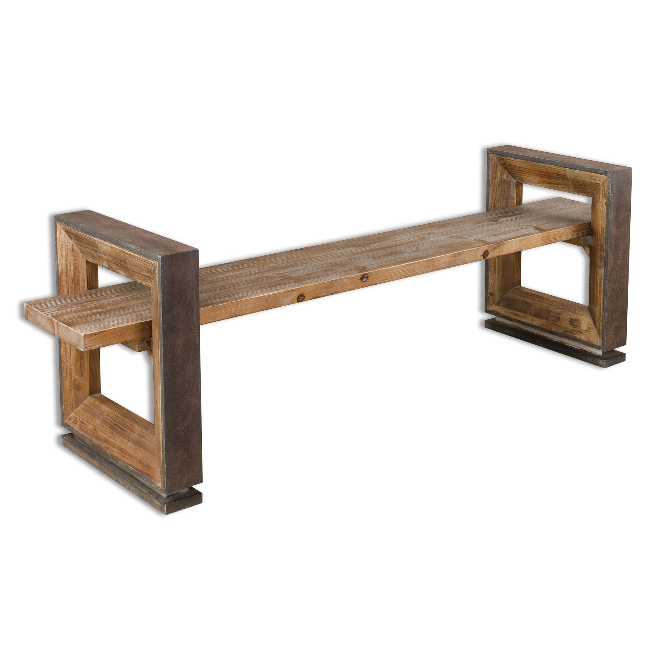 Uttermost Accent Furniture Parkyn Modern Bench - Item Number: 24512