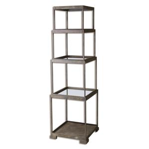 Uttermost Accent Furniture Friedman Metal Etagere