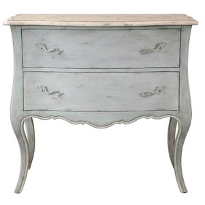 Uttermost Accent Furniture Ferrand Gray Accent Chest