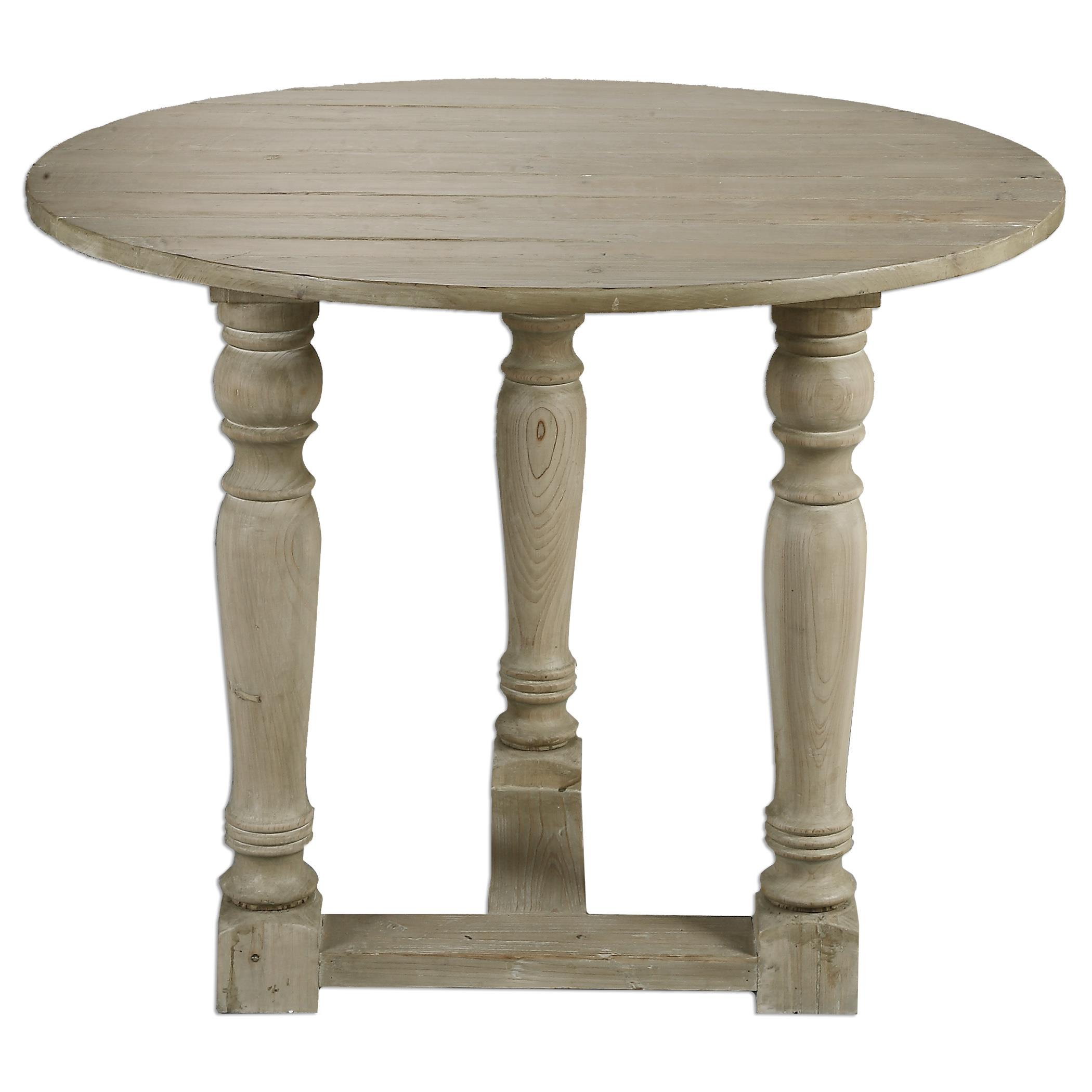 Uttermost Accent Furniture Hadwin Drop Leaf Table - Item Number: 24534