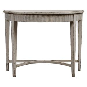 Uttermost Accent Furniture Parisio Demilune Console Table