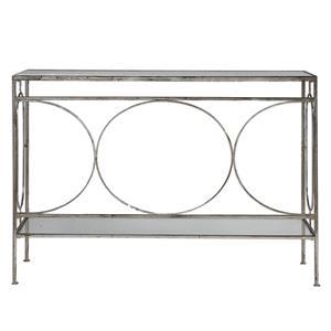 Luano Silver Console Table