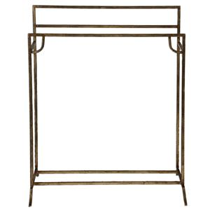 Uttermost Accent Furniture Perico Gold Towel Stand