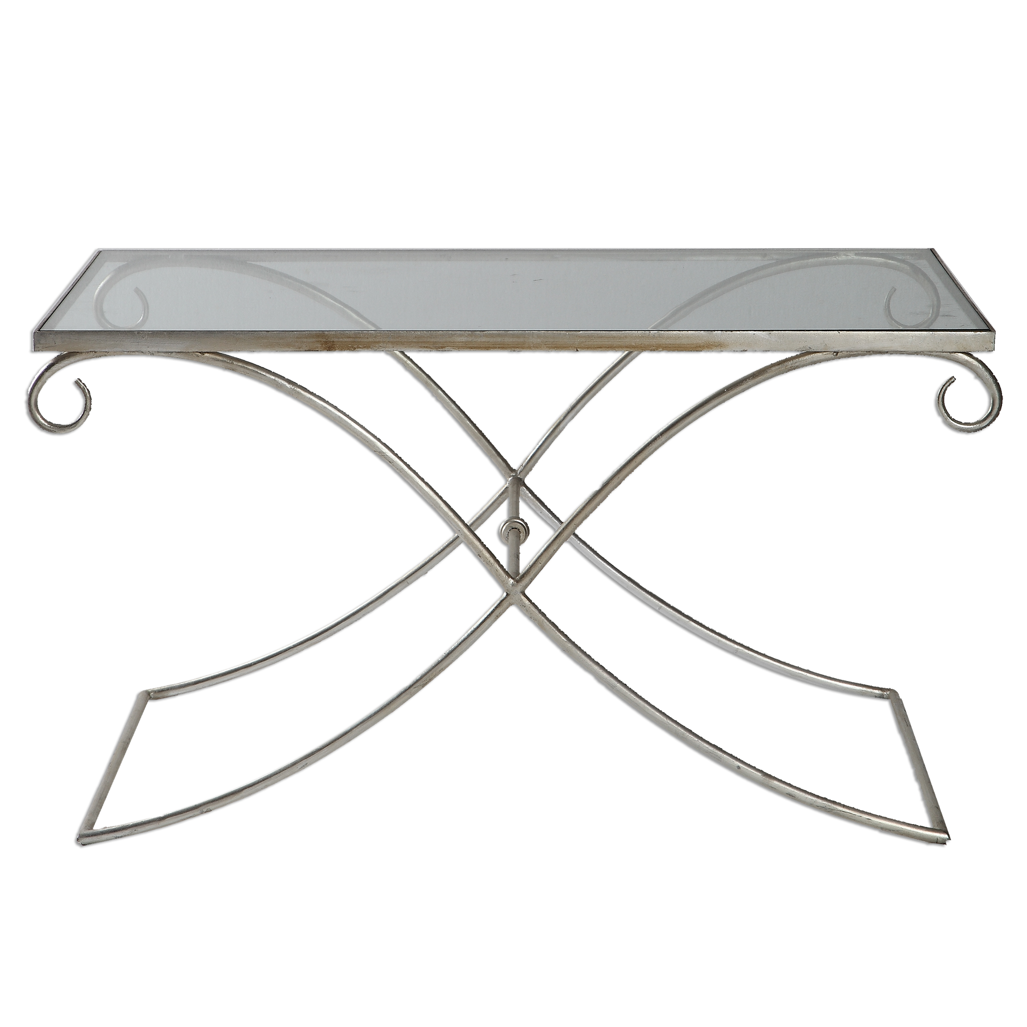 Uttermost Accent Furniture Lamani Glass Coffee Table - Item Number: 24547