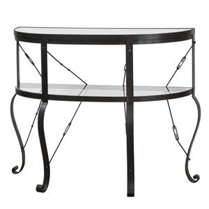 Uttermost Accent Furniture Ivyn Rust Bronze Console Table
