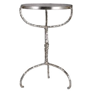 Uttermost Accent Furniture Halcion Cast Iron Accent Table