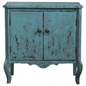 Uttermost Accent Furniture  Meka Aged Blue Accent Chest - Item Number: 24554