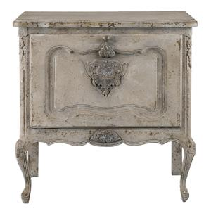 Uttermost Accent Furniture Fausta Aged Ivory Accent Chest