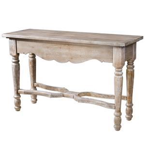 Uttermost Accent Furniture Cowen Aged Console Table