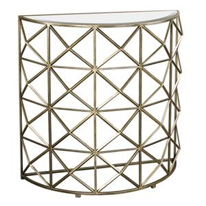 Uttermost Accent Furniture Yulia Gold Console Table