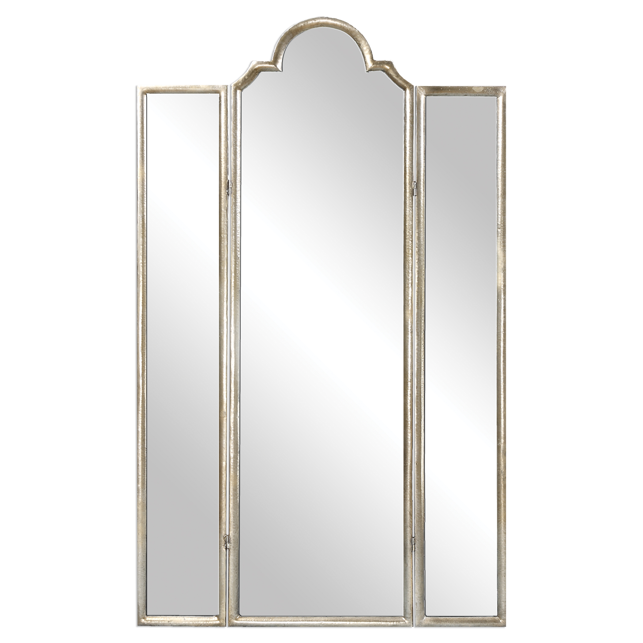 Uttermost Accent Furniture Neema Three Paneled Mirror Screen - Item Number: 24604