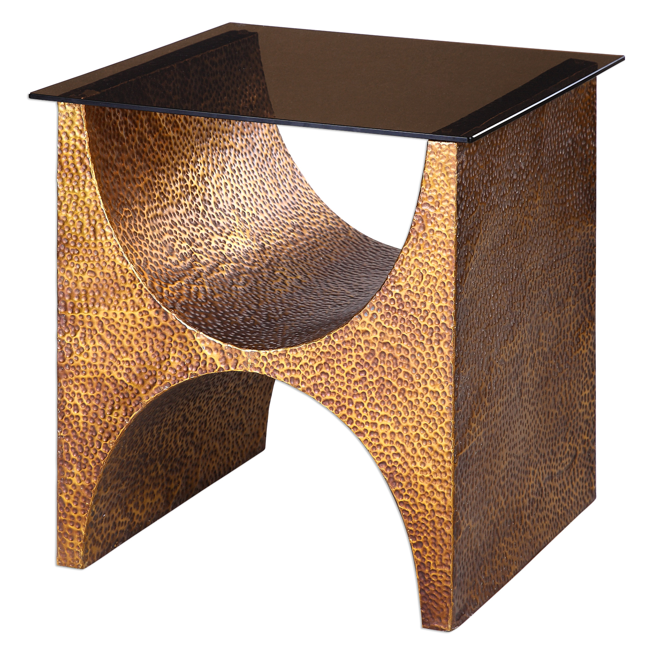 Uttermost Accent Furniture Rafaele Copper Accent Table - Item Number: 24618