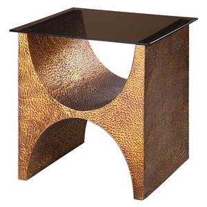 Uttermost Accent Furniture Rafaele Copper Accent Table