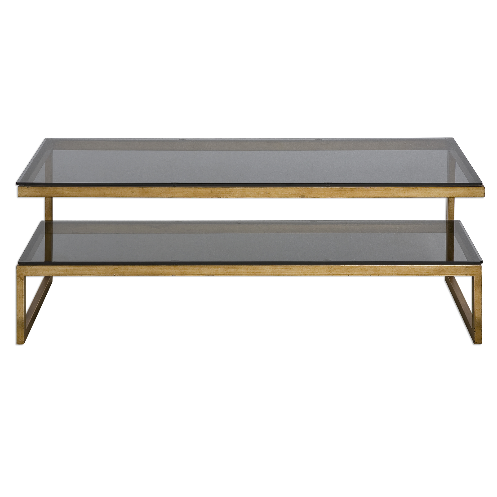 Uttermost Accent Furniture Adeen Glass Coffee Table - Item Number: 24619