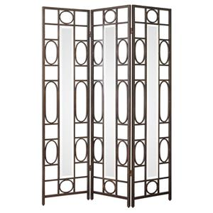 Uttermost Accent Furniture Keagan Iron Floor Screen