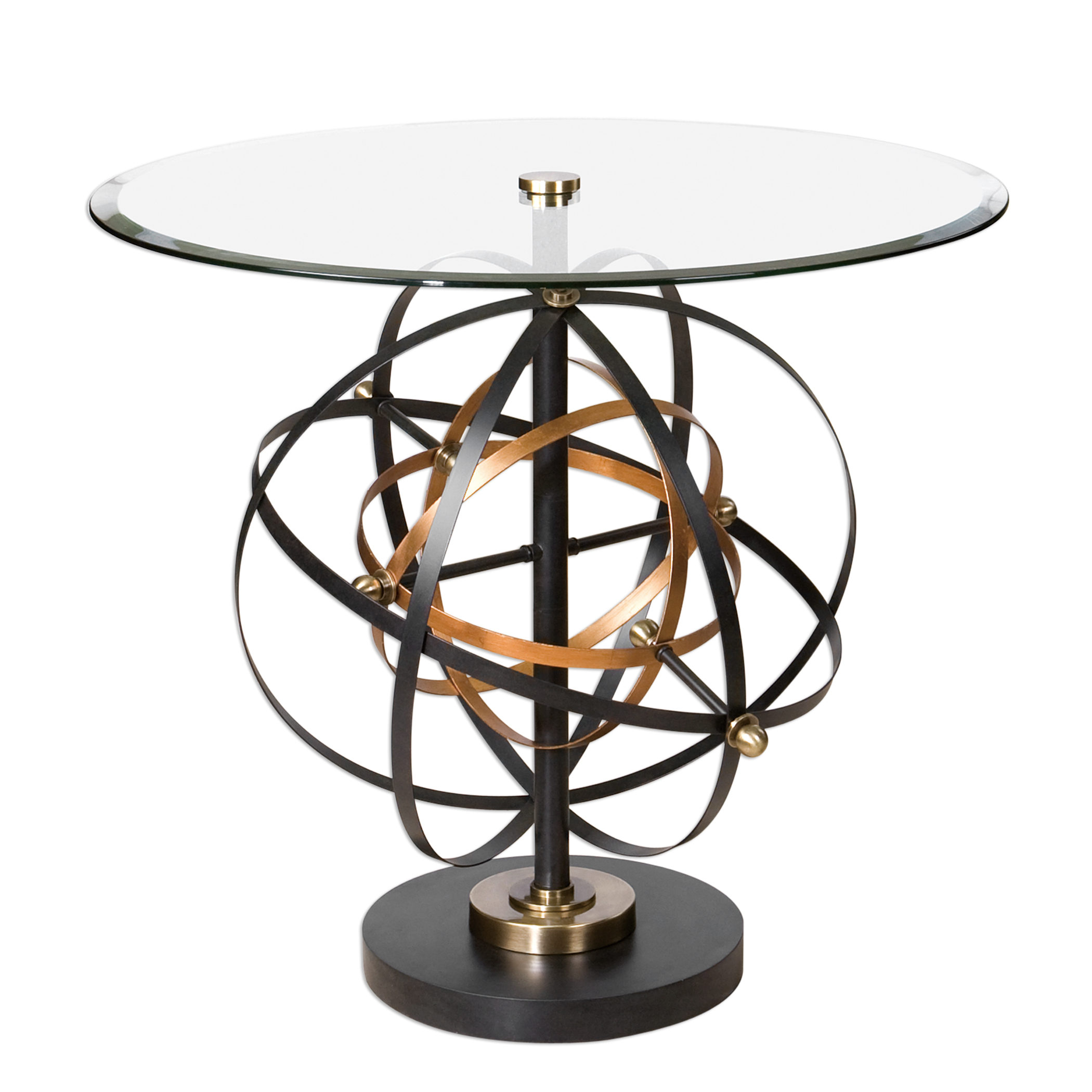 Uttermost Accent Furniture Colman Sphere Accent Table - Item Number: 24627