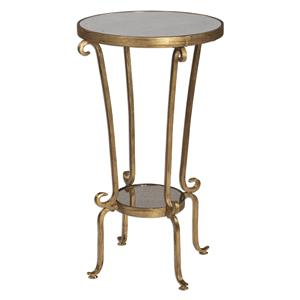 Uttermost Accent Furniture Vevina Round Accent Table