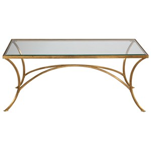Alayna Gold Coffee Table