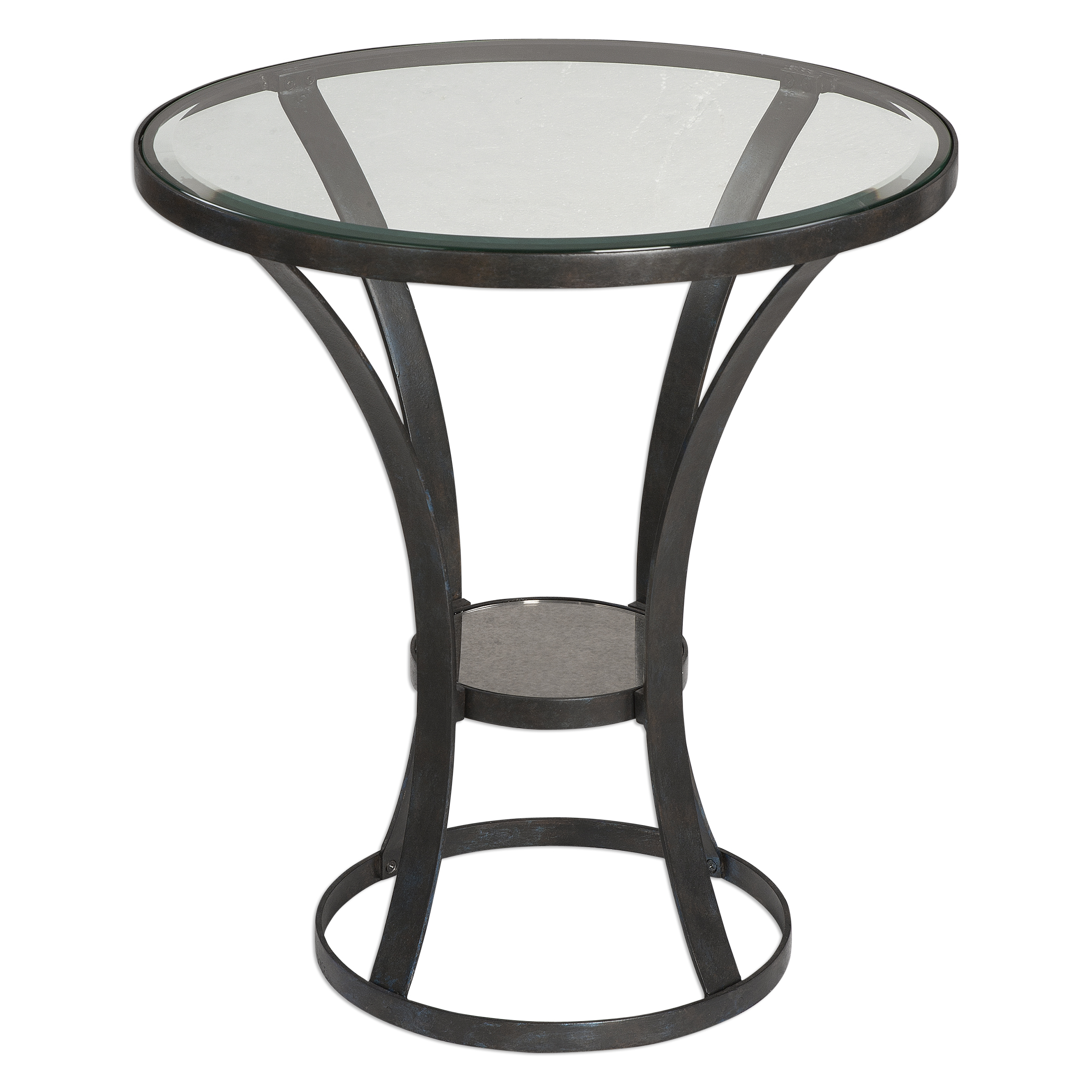 Uttermost Accent Furniture Tomasso Iron Accent Table - Item Number: 24649