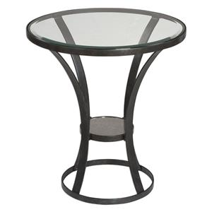 Uttermost Accent Furniture Tomasso Iron Accent Table
