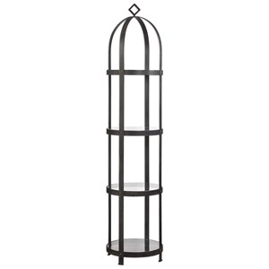 Uttermost Accent Furniture Welch Etagere