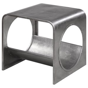 Yeager Silver End Table
