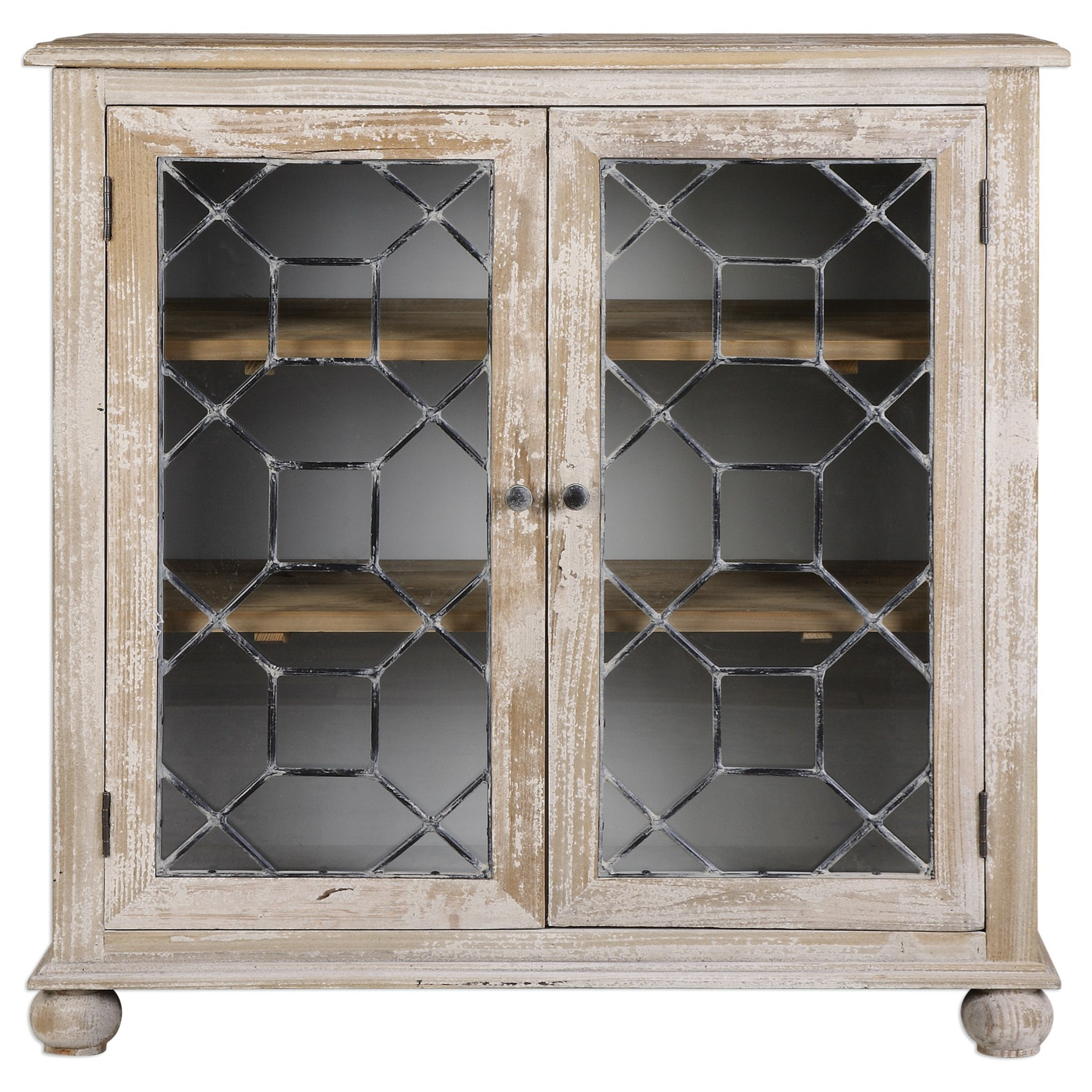 Uttermost Accent Furniture Earline Accent Cabinet - Item Number: 24680