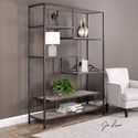 Uttermost Accent Furniture - Bookcases  Sherwin Industrial Etagere