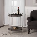 Uttermost Accent Furniture  Colin Wooden Serving Cart