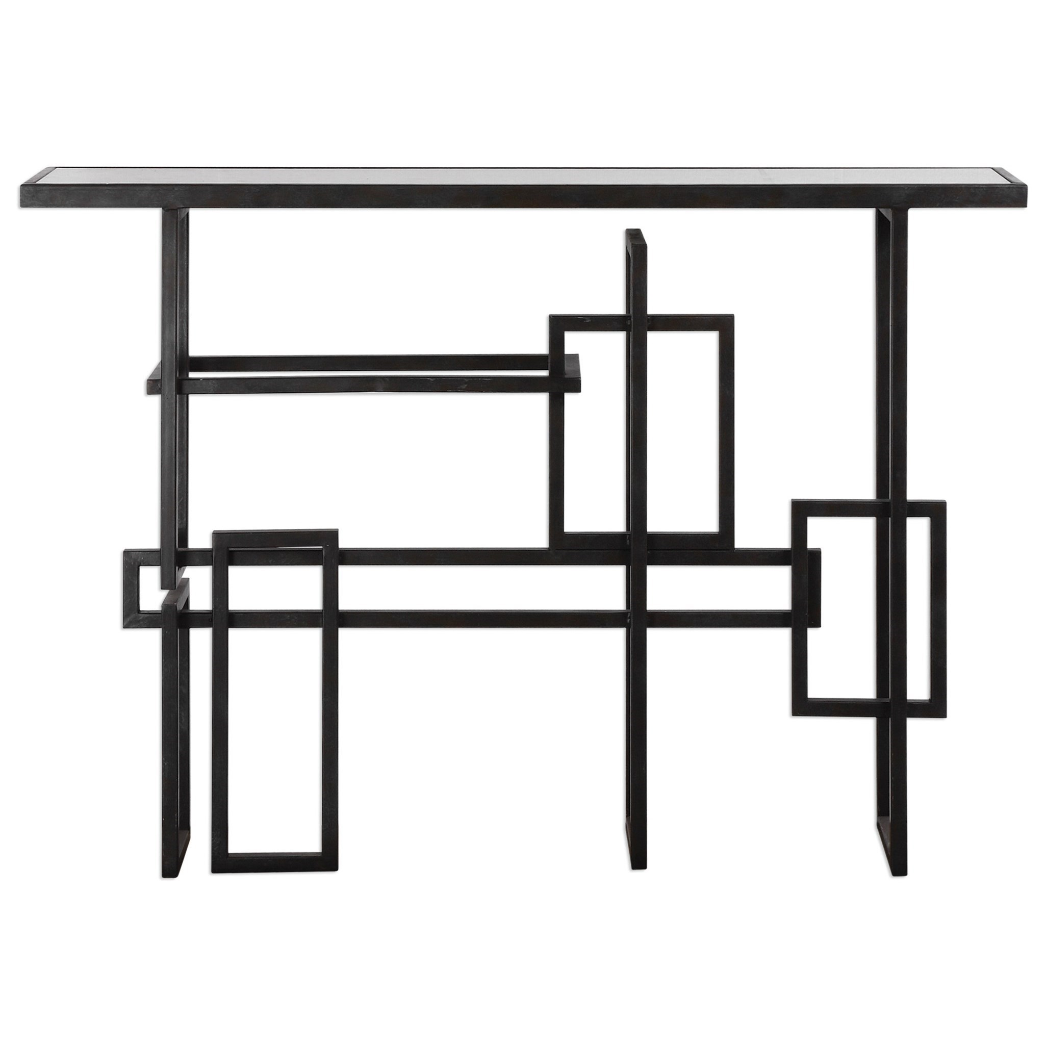 Uttermost Accent Furniture  Dane Industrial Console Table - Item Number: 24690
