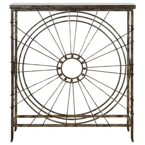 Uttermost Accent Furniture Sweeney Iron Console Table