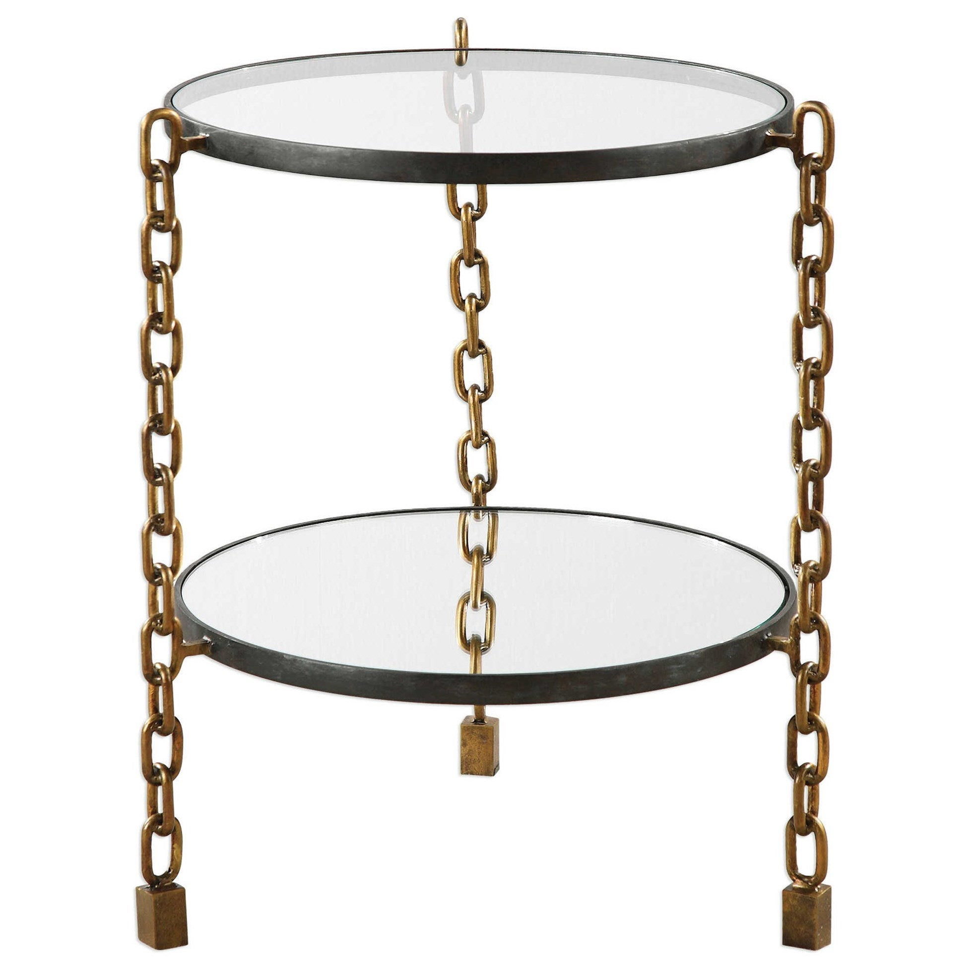 Uttermost Accent Furniture Alonna Chain Accent Table - Item Number: 24721