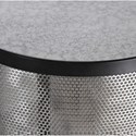 Uttermost Accent Furniture Gustav Black Iron Accent Table